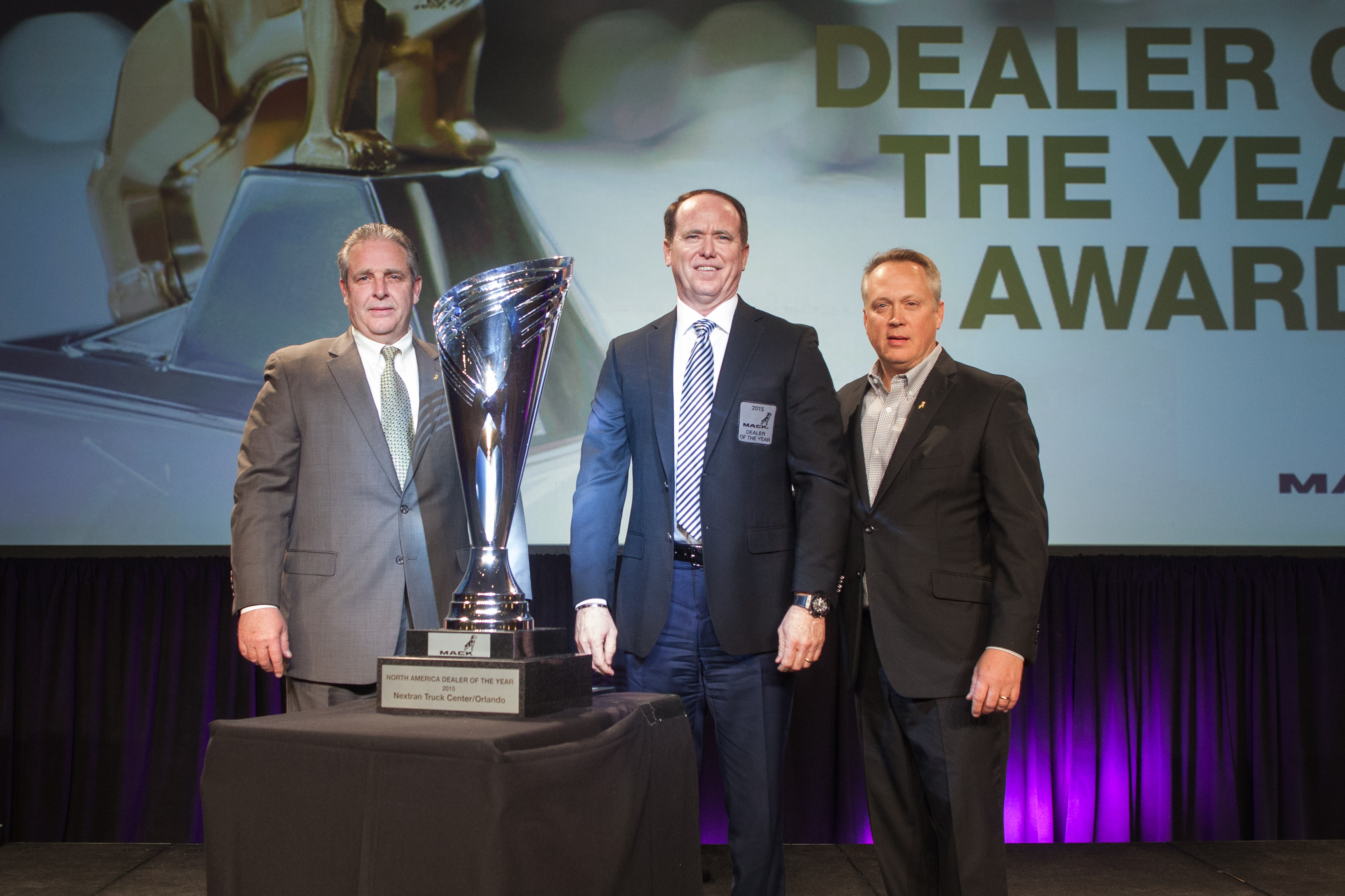 Mack Dealer of the Year 2015