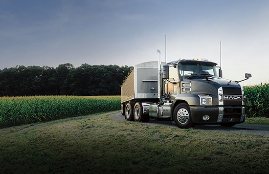 The all-new Mack Anthem™ combines efficiency- and productivity-boosting enhancements with weight-conscious options to deliver the right combination for tanker and bulk-haul customers.