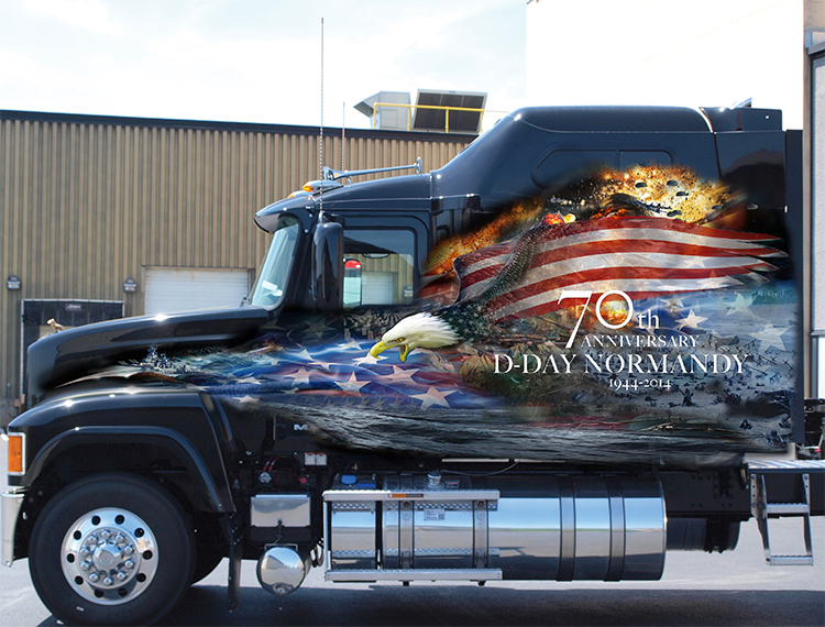 2014 Ride for Freedom Pinnacle AF truck
