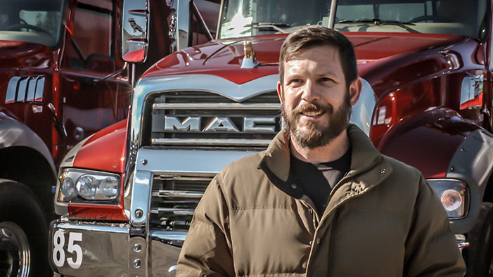 V McGee Trucking operations manager Kevin Mays