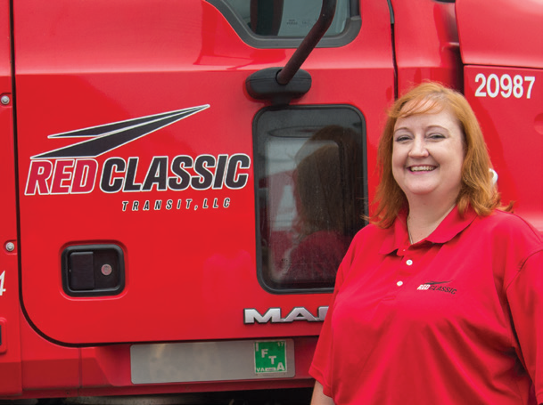 Wendy Smith, coordinates maintenance operations for Red Classic.