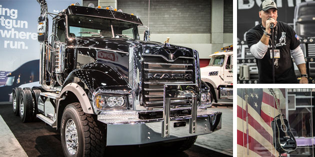 Mack Trucks at Mid-America Truck Show 2015