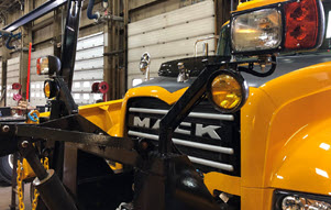 Mack Trucks Granite Headlamps and Auxiliary Lamps - Snow Plow Lamps II