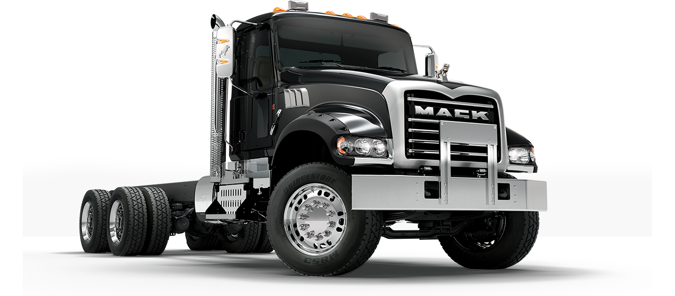 Mack Trucks GMHD Pass Quarter