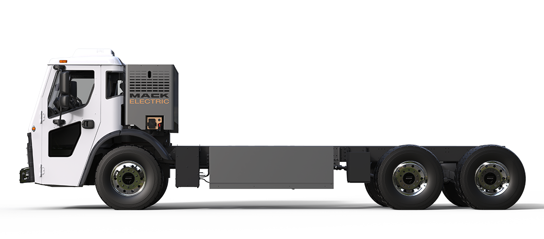 Mack LR Electric Drivers-Side-View