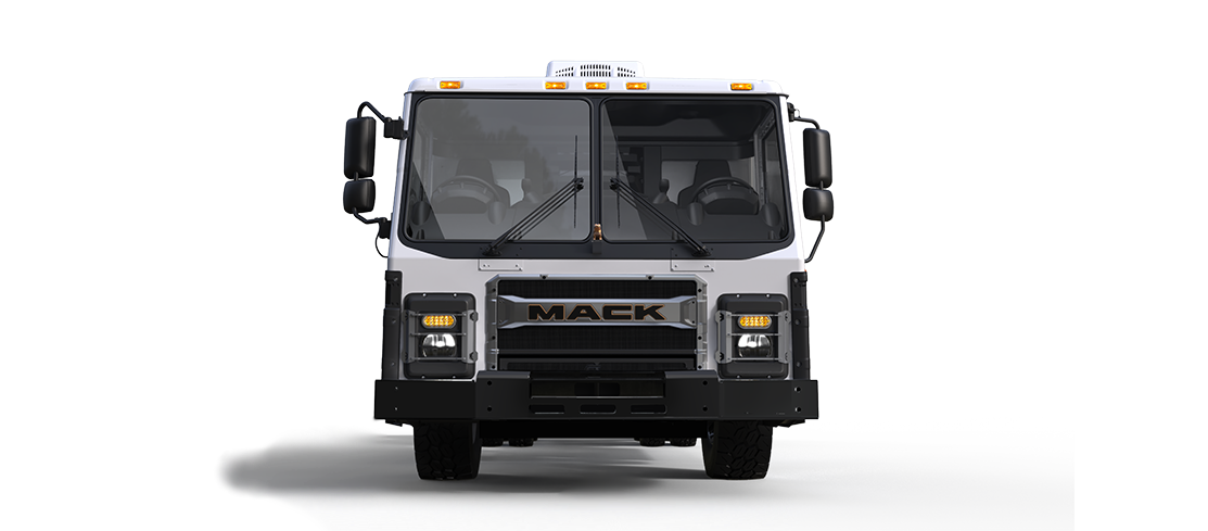 Mack LR Electric Front-View