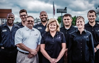 A group of Mack Dealership employees.