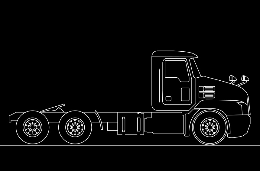 Mack Trucks Axles Basic Traction