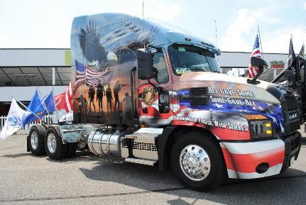 Mack Trucks to Honor Fallen Military Heroes in 32nd and Final Ride for Freedom