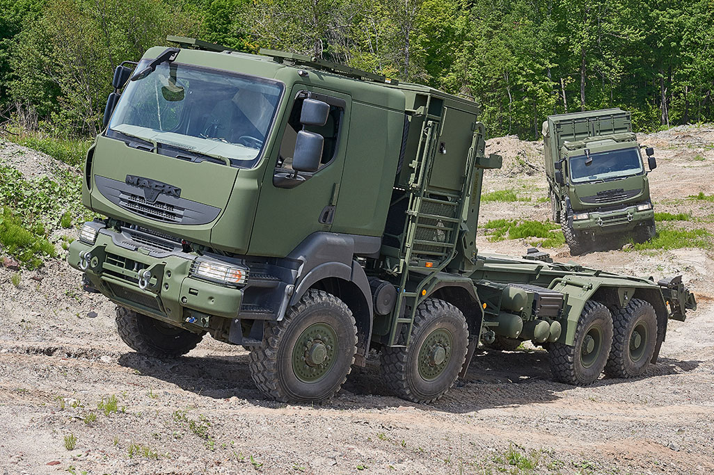 Mack Defense In-Service Support Contract Extended for Canadian Medium Support Vehicle System Program