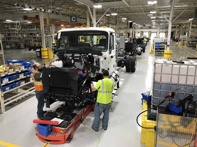 Mack Trucks Roanoke Valley Operations (RVO) facility, Virginia