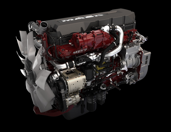 MP7 Semi Truck Engine | Mack Trucks