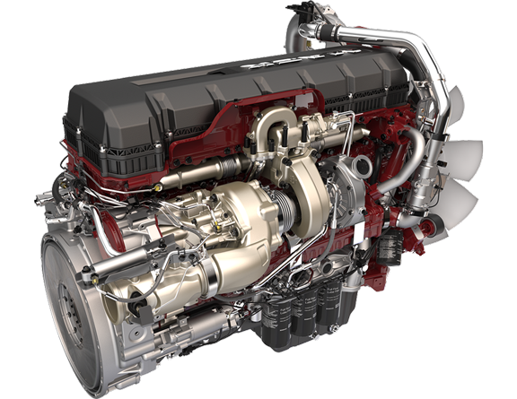 Mack Trucks MP8 TC engine