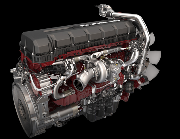 mp8 semi truck engine