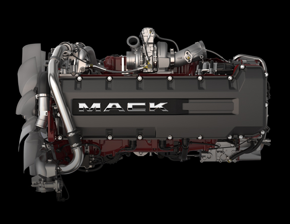 WRG-5047] Mack Truck Engine Compartment Diagram on