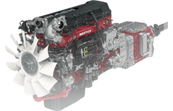 Mack integrated powertrain
