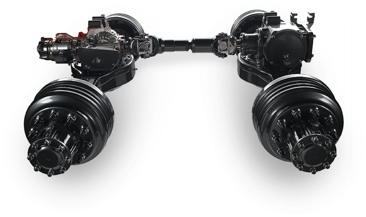 Semi Truck Axles | Mack Trucks