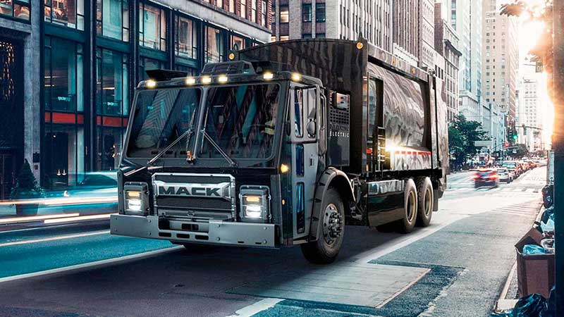 Mack LR Electric save on costs