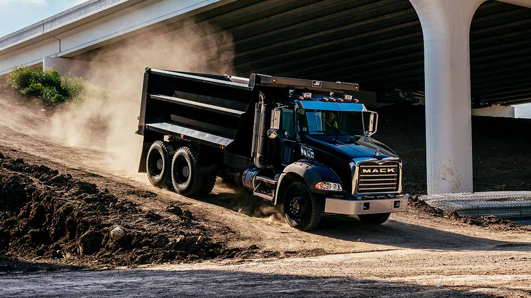 Mack Trucks Black Granite