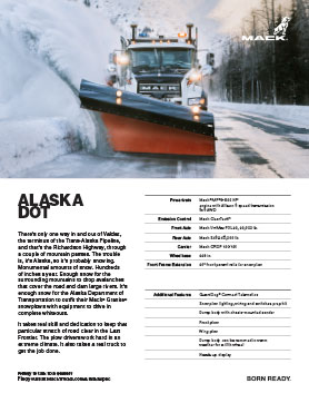 Alaska Dot spec sheet thumbnail
