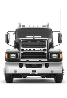 Front of Mack Pinnacle Truck