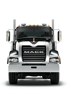 Front of Titan by Mack Truck